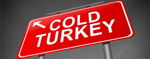 how to make quitting smoking cold turkey easier