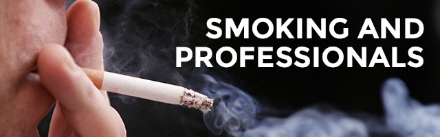 Tobacco Smoking and Professionals