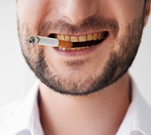 teeth after smoking