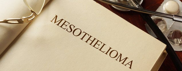 Book with diagnosis Mesothelioma