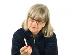 older women smoking