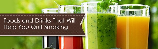 Foods and Drinks That Will Help You Quit Smoking