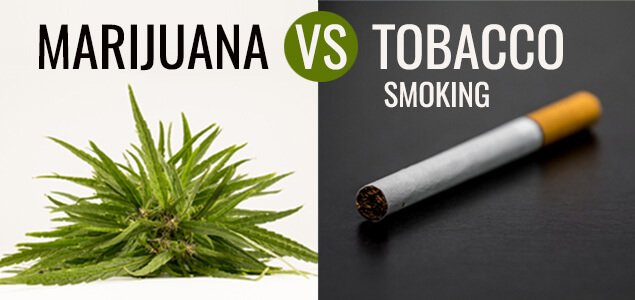 Marijuana vs. Tobacco Smoking