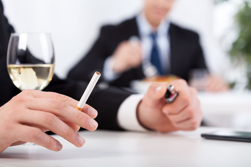 Drinking may sometimes be a trigger smoking, and vice versa. Avoiding ...