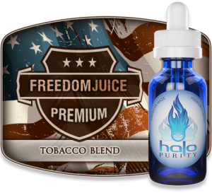 freedom juice tobacco e-liquid