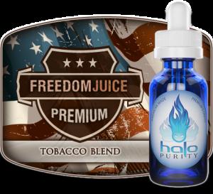 freedom juice tobacco e-liquid