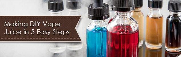 Making DIY Vape Juice in 5 Easy Steps