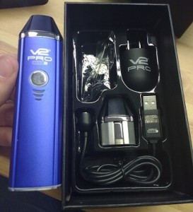 V2Pro Series 7 Vaporizer Kit Content