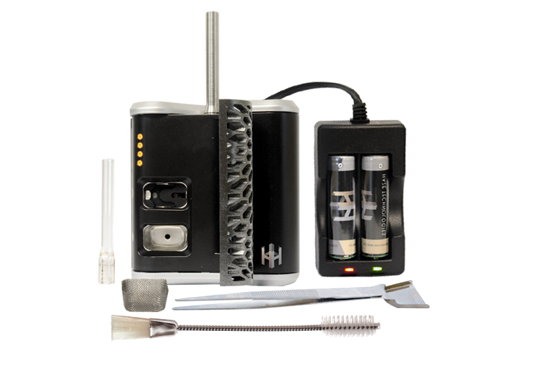 Haze V3 Vaporizer and accessories