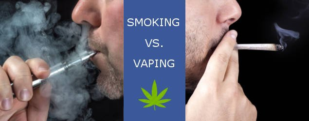 smoking vs vaping marijuana