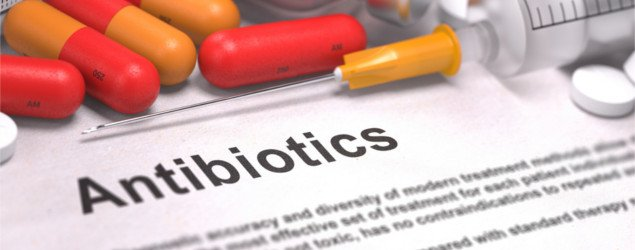 Antibiotics - Printed Diagnosis with Blurred Text