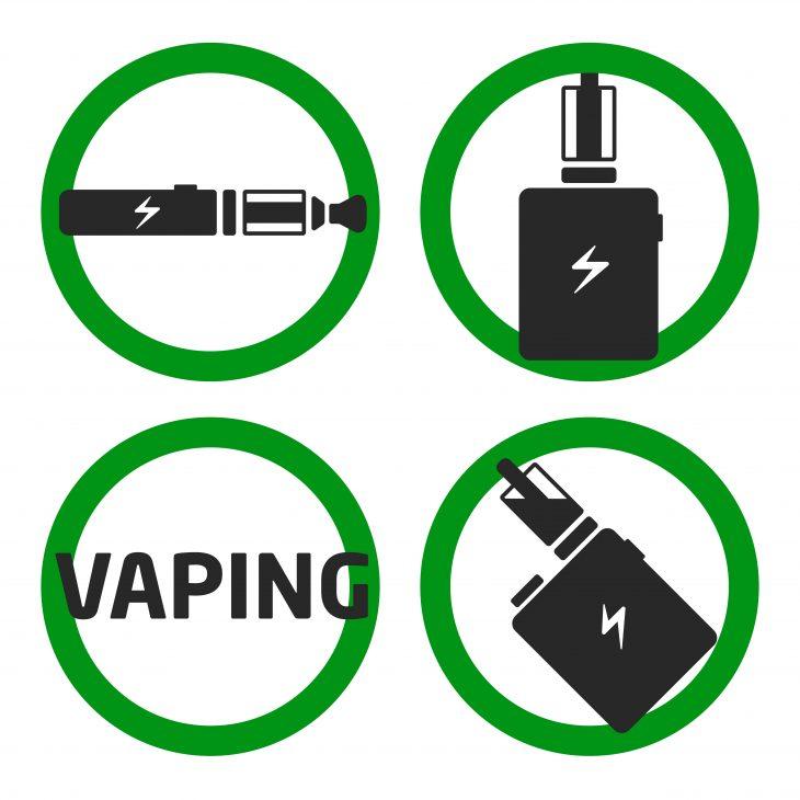 vapinng battery green