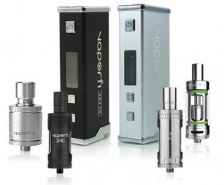VaporFi Vox TC Box Mod kit
