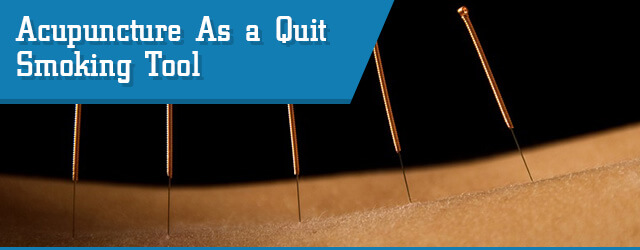 acupuncture to help you quit smoking