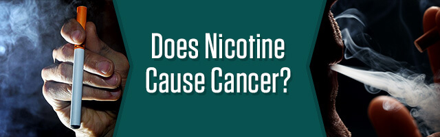 Does Nicotine Cause Cancer?
