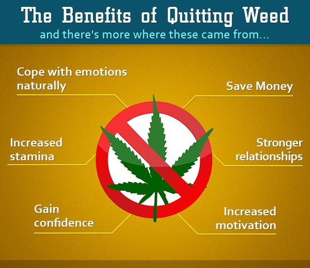 Benefits of quitting smoking weed