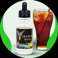 Cola flavored E-Liquid