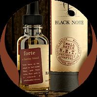 Black Note forte tobacco e-liquids
