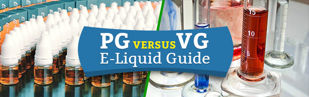 PG versus VG in vape juices