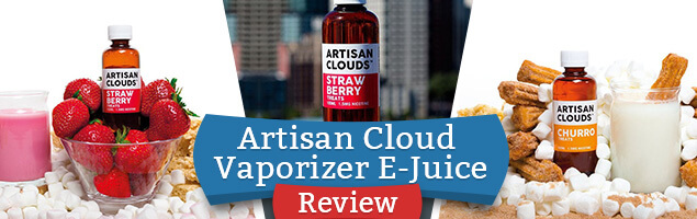 Artisan Cloud Vaporizer E-Juice Review