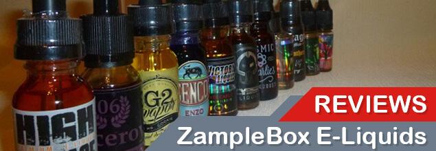 ZampleBox E-liquids review