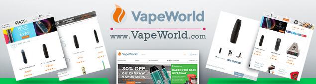 Vape World Online Vaporizer Store