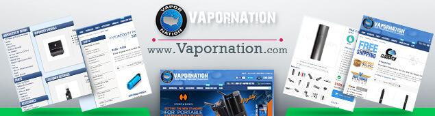 VaporNation Online vaporizer store
