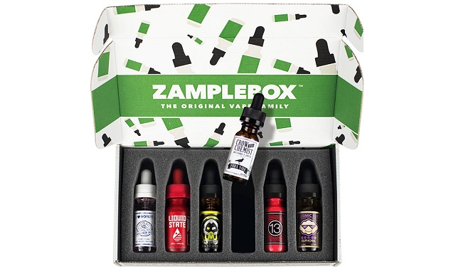ZampleBox's e-liquids
