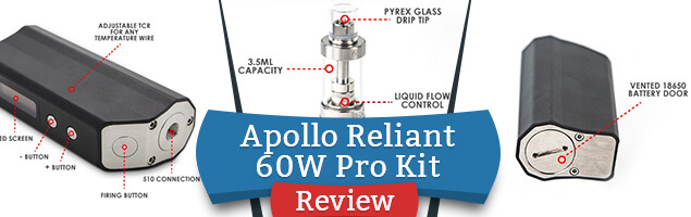 Apollo Reliant 60W Pro Kit Review