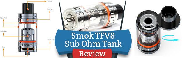 Smok TFV8 Sub Ohm Tank Review