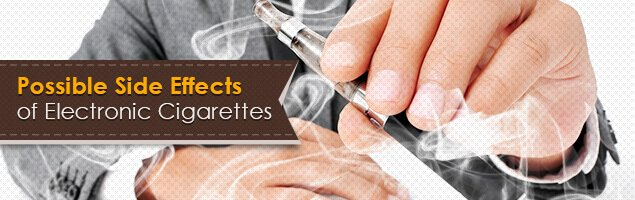 Side effects of electronic cigarettes