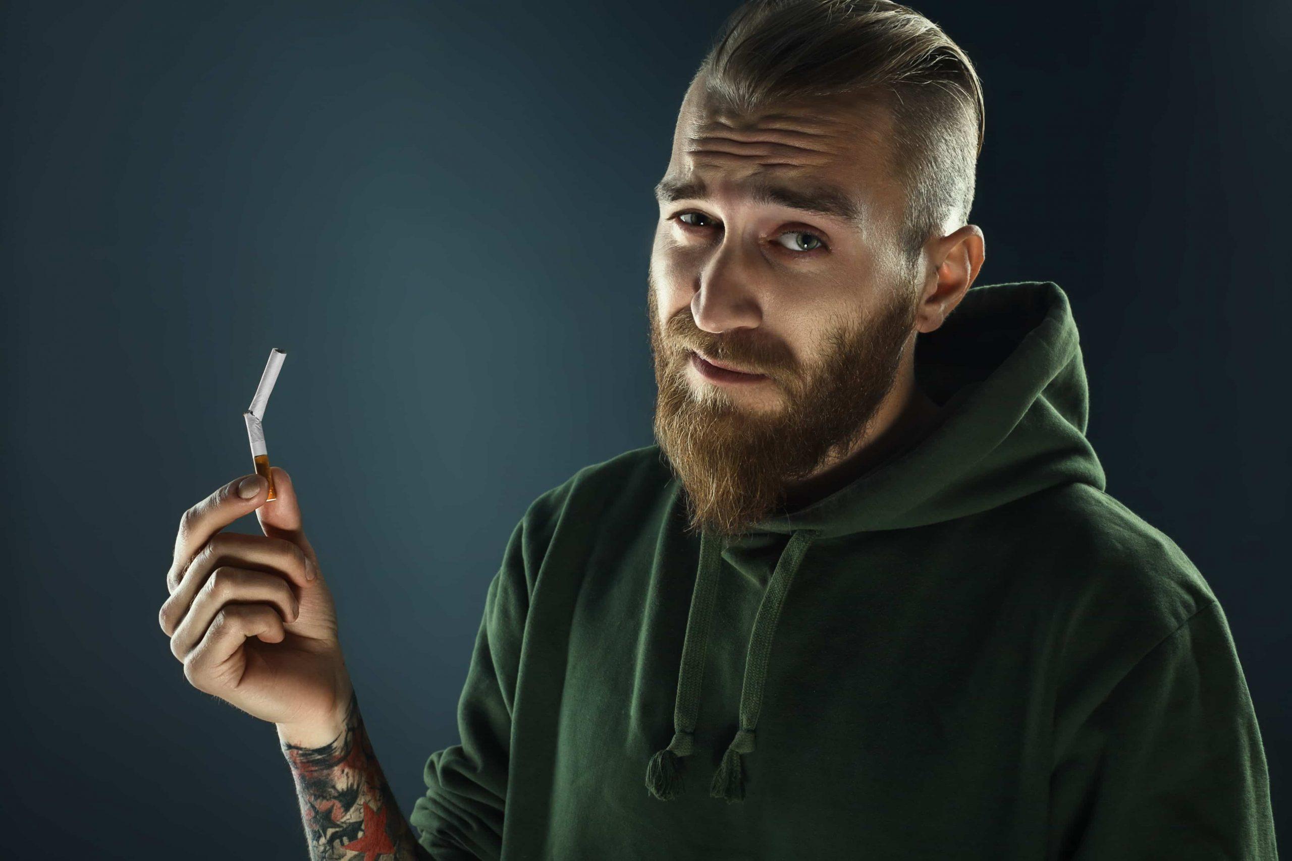 social smoking quitting