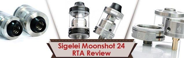 Sigelei Moonshot 24 RTA Review