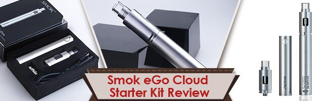 Smok eGo Cloud Starter Kit Review – Simple and Perfect