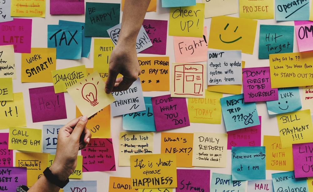 Sticky Note board in Office