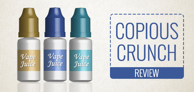 Copious Crunch by Simply E-Juice – A Smooth and Fruity Taste