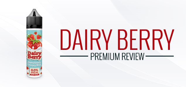 Dairy Berry Premium E-Liquid by VapeRite Review – Berry&Milk