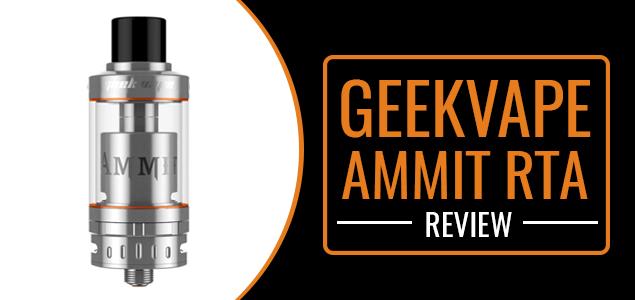 GeekVape Ammit RTA Review