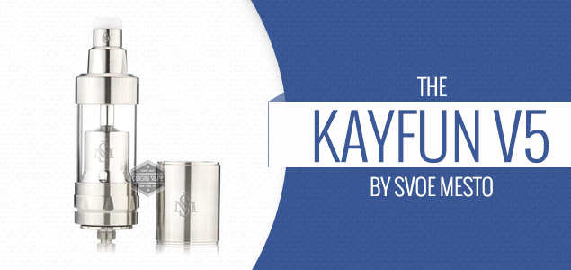 The Kayfun V5 by Svoe Mesto Review