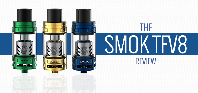 The Smok TFV8 Cloud Beast Review – A Cloud Chaser's Dream
