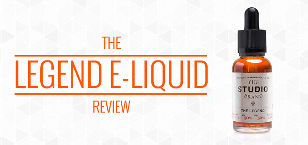 The Legend E-Liquid by The Studio Brand Review – Perfect Sweetness