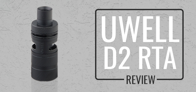 Uwell D2 RTA Review