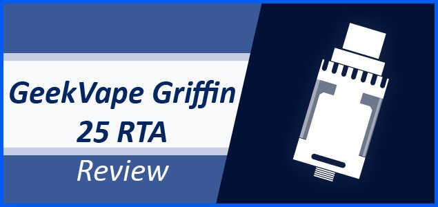GeekVape Griffin 25 RTA Review