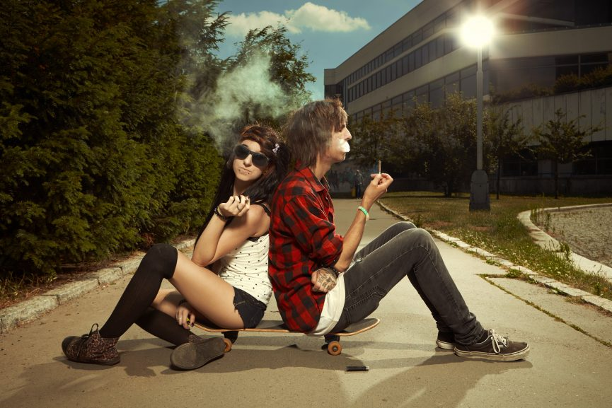 tobacco vs weed risks