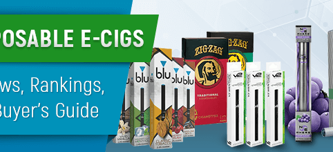 Disposable E-Cigs of 2019: Reviews, Rankings, and Buyer's Guide