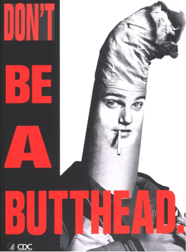 Don't be a Butthead Campaign