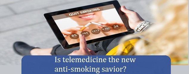 Is telemedicine the new anti-smoking savior?