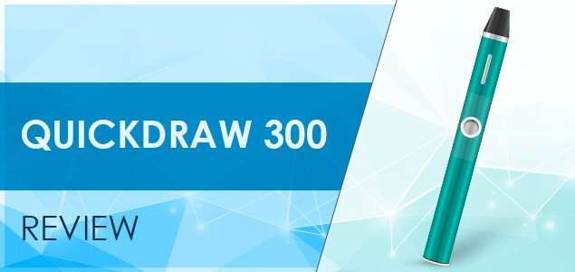 QuickDraw 300 Vape Review: Take a Draw and Forget the Rest