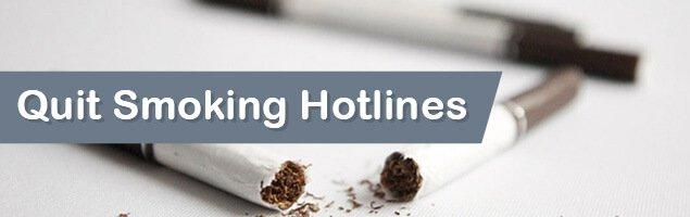 Quit Smoking Hotlines