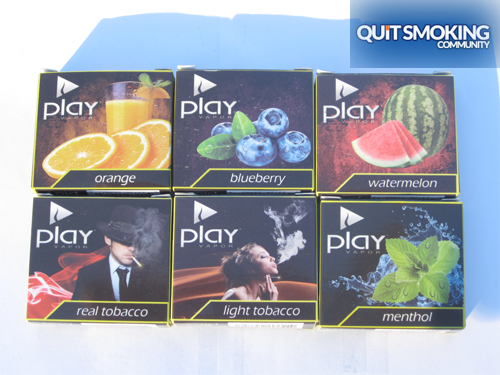 play vapor flavor packs
